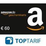 Kfz-Versicherung wechseln + 60€ Amazon.de Gutschein* + 20% Rabatt auf AmazonBasics – Bonus-Deal!