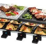 Schnell! Medion MD15601 Raclette Grill inkl. Granitplatte + 8 Pfännchen für 14,99€ (statt 26€)