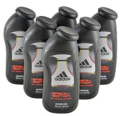 Vorbei! 6er Pack adidas Extreme Power Shower Gel (je 250 ml) für 6,66€ (statt 10€)