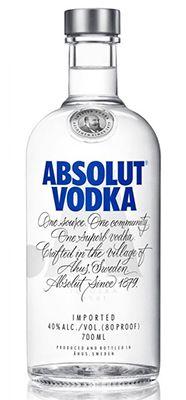 Absolut Vodka 0,7l für 9,99€ (statt 15€)