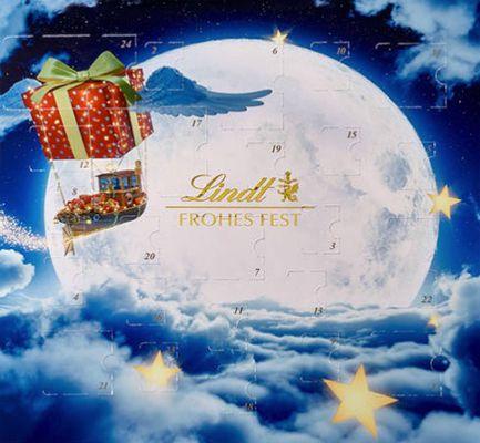 Lindt Adventskalender (156g Schokolade) ab 9,99€ + mind. 5€ Galeria Gutschein