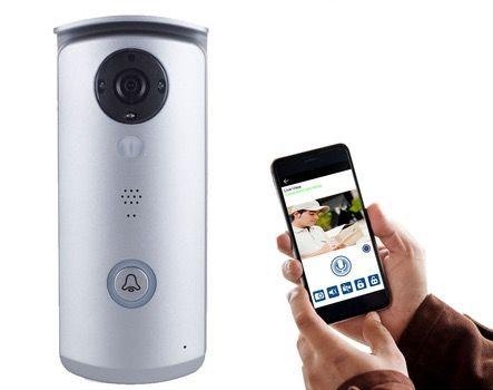 Smartwares IP Video Türsprechanlage mit App Anbindung für 125,90€ (statt 154€)