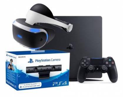 Schnell! PS4 slim + VR + Kamera Bundle für 576€ (statt 706€)