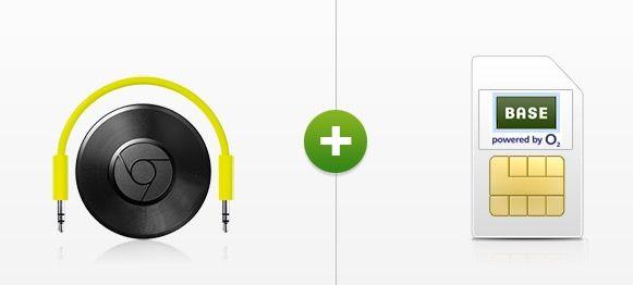 o2 Blue All in M 2GB LTE + Chromecast Audio für 9,99€ mtl.