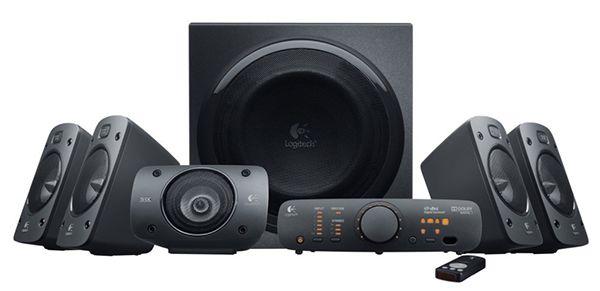 Logitech Z906 3D-Stereo-Lautsprecher THX für 225,12€ (statt 263€)