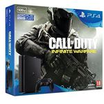 PlayStation 4 500GB Slim + Call Of Duty: Infinite Warfare für 258,17€ (statt 307€)
