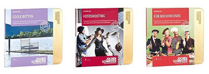 Günstige Jochen Schweizer Erlebnisboxen   z.B. Best of Gourmet für 72€ (statt 85€)