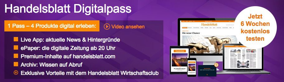 Bildschirmfoto 2016 12 14 um 17.31.24 6 Wochen Handelsblatt Digitalpass gratis lesen