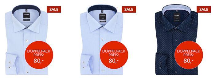 2 Olymp Herren Hemden für 70€ (statt 100€)