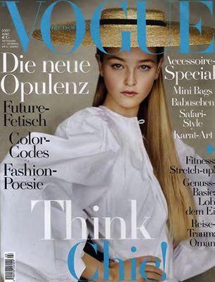 12 Ausgaben Vogue mit effektiv 1€ Gewinn (statt 84€)