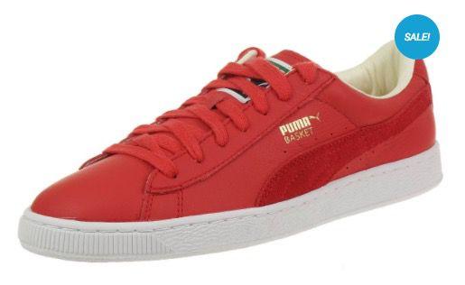 Puma Basket Classic Unisex Leder Sneaker für 27,89€ (statt 35€)