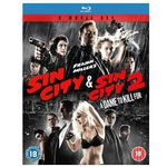 Sin City + Sin City 2 A Dame to kill for (Blu-ray)  für nur 7,99€