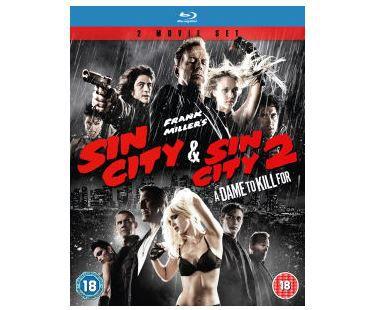 Sin City + Sin City 2 A Dame to kill for (Blu ray)  für nur 7,99€