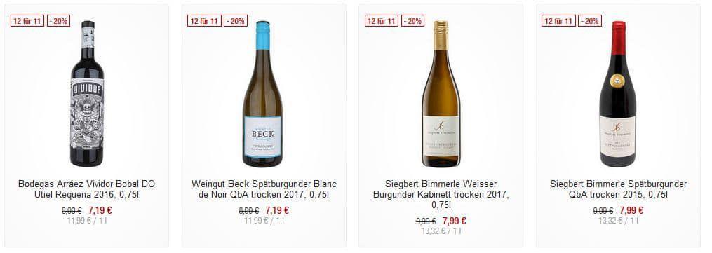 Galeria Kaufhof Dienstag Angebote: heute 20% auf ausgewählt Weine & Schaumweine