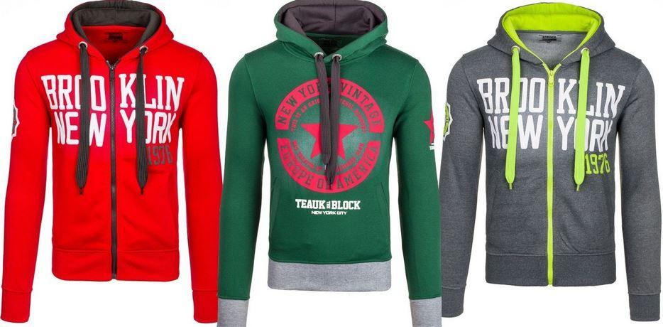 Bolf neue Herren Hoodies BOLF Herren Motiv Hoodies in vielen Farben für je 13,95€