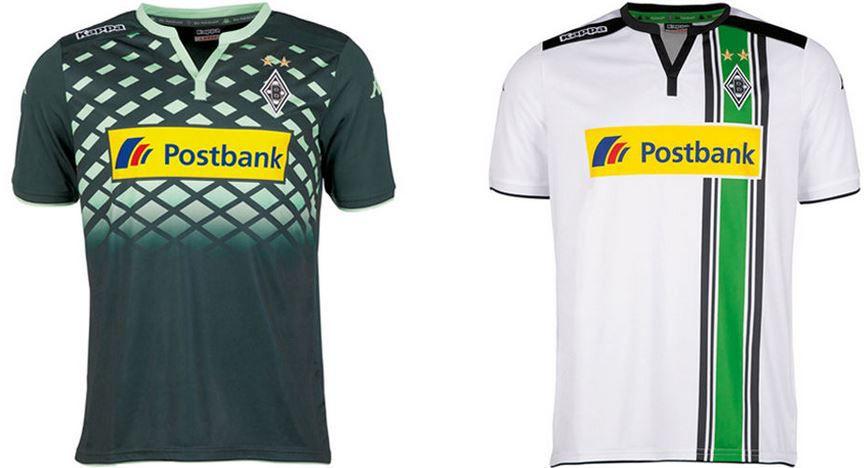 Borussia Mönchengladbach Kappa Trikot Borussia Mönchengladbach Kappa   Herren und Kinder Trikot für je 19,99€