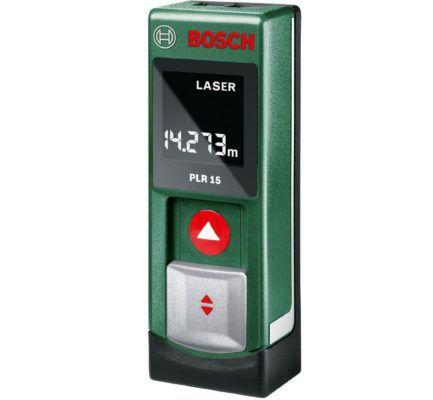 Bosch DIY PLR 15  digitaler Laser Entfernungsmesser mit sehr guten Bewertungen für nur 33,87€