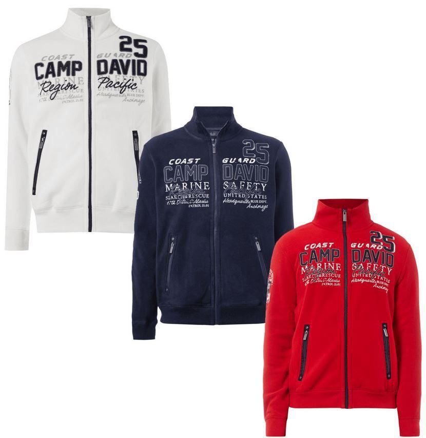 Camp David Fleecejacke Camp David Herren Fleecejacke für 49,99€ (statt 65€)