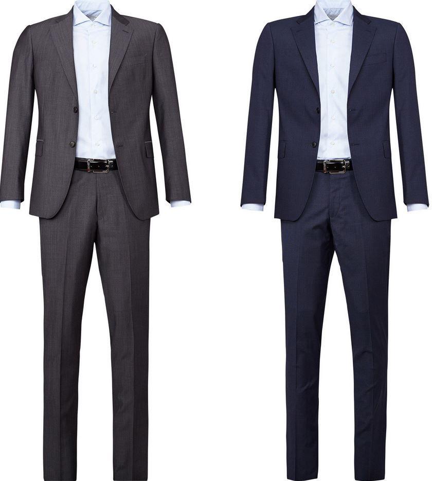 Cerruti 1881   Herren Anzüge regular Fit 100% Wolle für je 199€