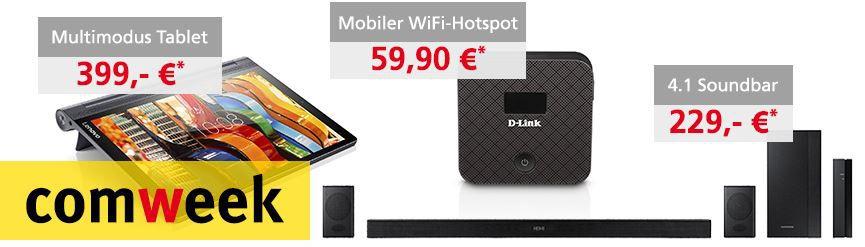 Comweek Tipp neu Comtech Comweek Deals – z.B. Samsung HW K470 4.1 Bluetooth Soundbar für 229€