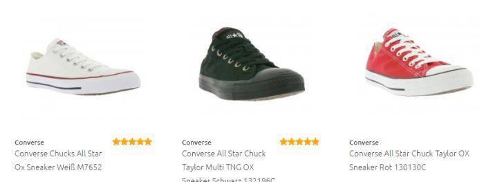 Converse 2 Converse Sale bei Outlet46   z.B. Rucksäcke ab 9,99€