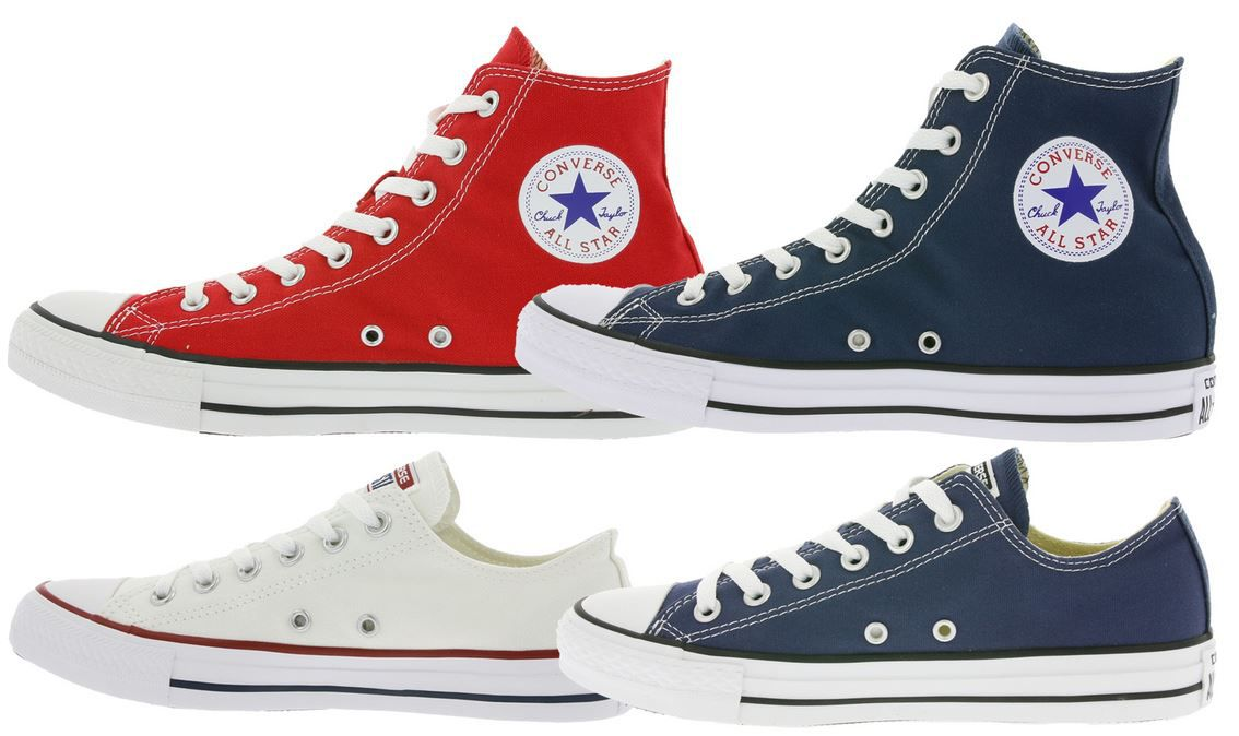 Converse Chucks All Star Hi cut Sneaker div. Farben für 39,99€