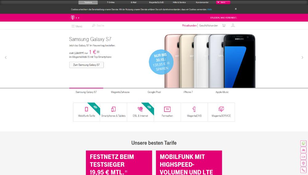 Deutsche Telekom1 Die besten Mobilfunkanbieter   Das beste Handynetz