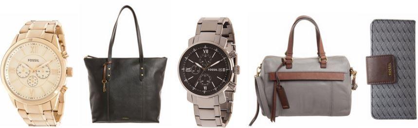 Fossil Accessoie und Uhren Sale FOSSIL Sale mit bis zu 70% auf Uhren, Taschen & Accessoires für Damen und Herren