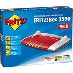 AVM FRITZ!BOX 3390 – dual WLAN N-Router u. Modem mit 4x Gigabitports für 69,90€ (statt 85€)