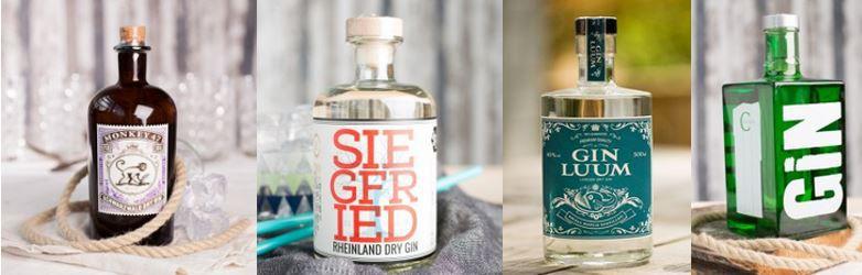 SIEGFRIED Rheinland Dry Gin & andere ausgewählte Spirituosen ab 60€ mit 25% Rabatt