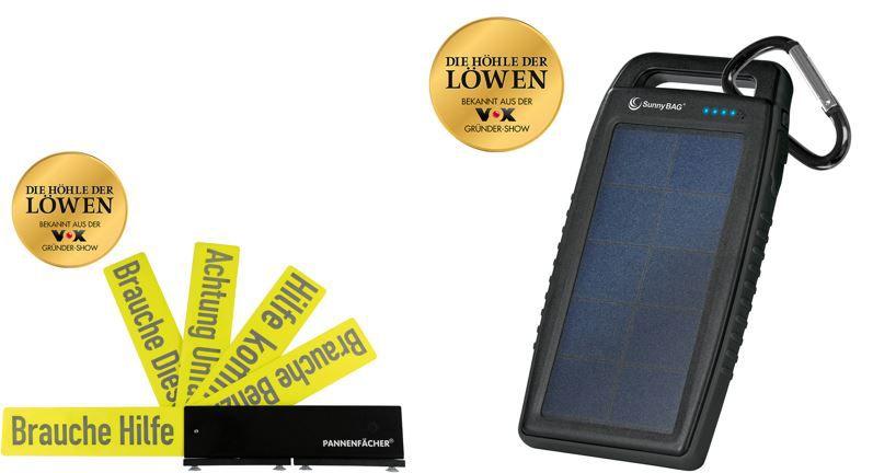 SunnyBAG   Solar Powerbank aus der aktuellen Höhle der Löwen für 29,99€