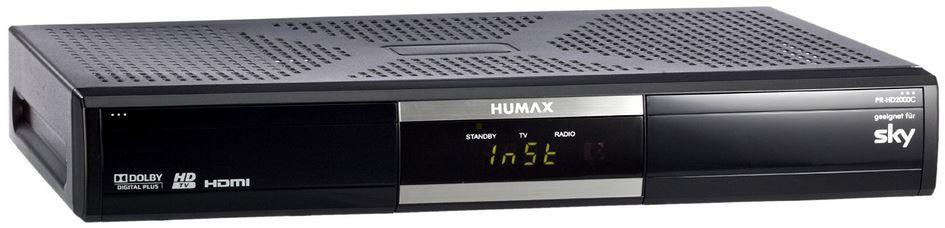 HUMAX PR HD 2000C DVB C (Kabel) Receiver (B Ware) für 22,22€