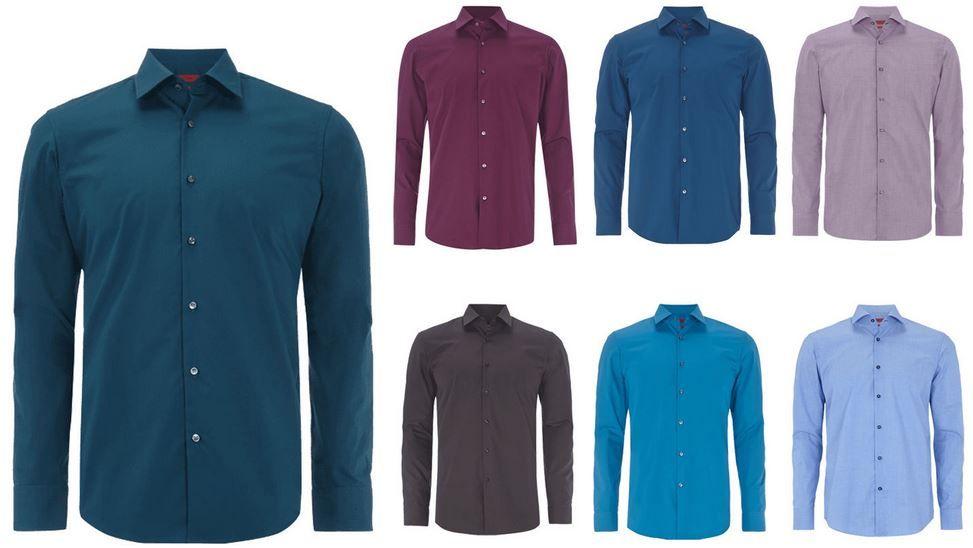 Hugo Business Hemd HUGO C Jenno & C Jacob Herren Hemden für je 34,95€ (statt 60€)