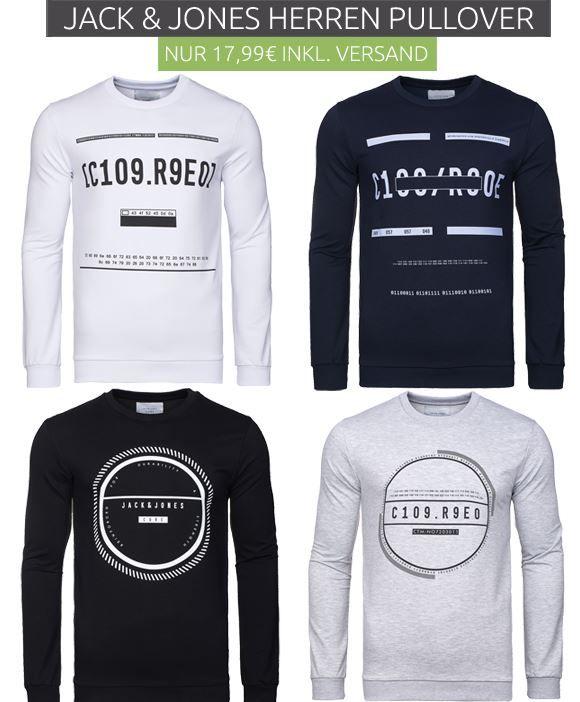 Jack & Jones JConulle Sweat Crew   Herren Sweater für je 17,99€