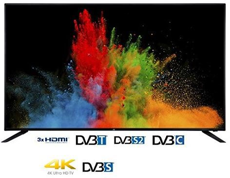 JAY TECH GENESIS 6.5   65 Zoll UHD TV für 599€   Günstigster 65 Zöller