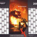 Texport Wandkalender 2017 (DIN A1) gratis