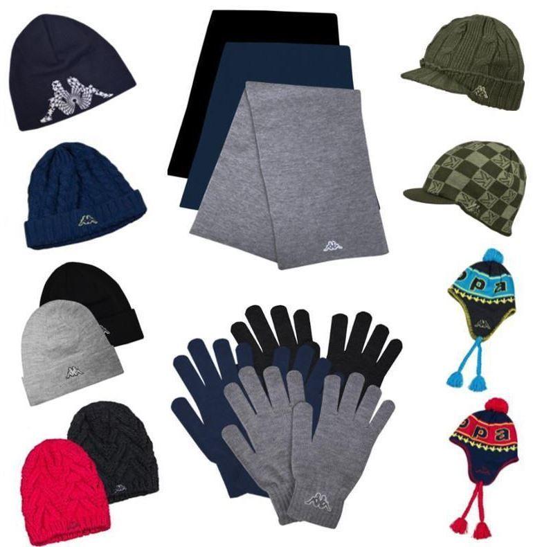 Kappa Schal oder Mütze oder Handschuhe für je 6,95€