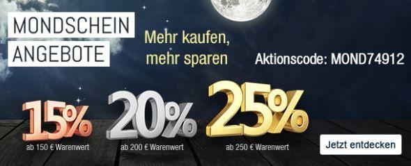Kaufhof Mondschein Angebote 25.10.2016 Bis 25% Rabatt auf ausgewählte Artikel   Galeria Kaufhof Mondschein Angebote   Top!
