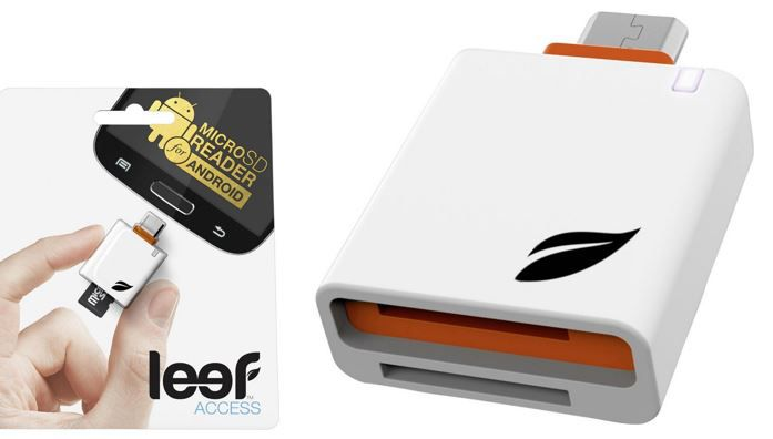 Leef Access Mobile White Orange OTG USB Stick für Handies oder Tablets nur 7,77€