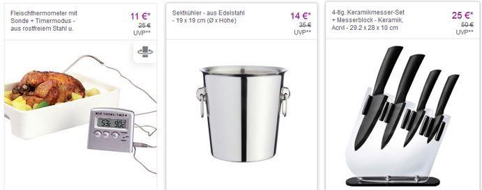 Leifheit VIP Sale LEIFHEIT birambeau Haushaltsartikel mit bis zu 60% Rabatt   Edelstahl Sektkühler ab 14€