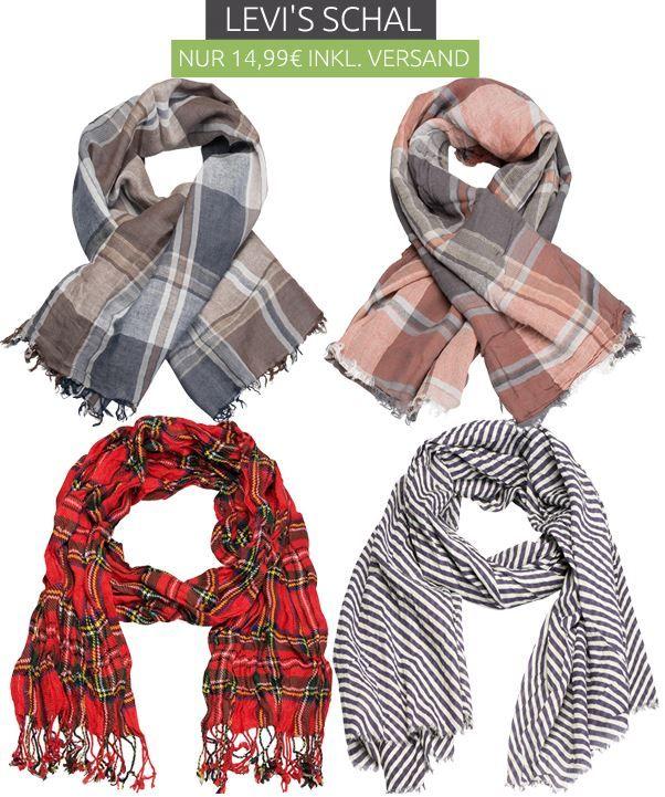 Levis Schal Levi´s unisex Schal in 4 Farben für je 14,99€