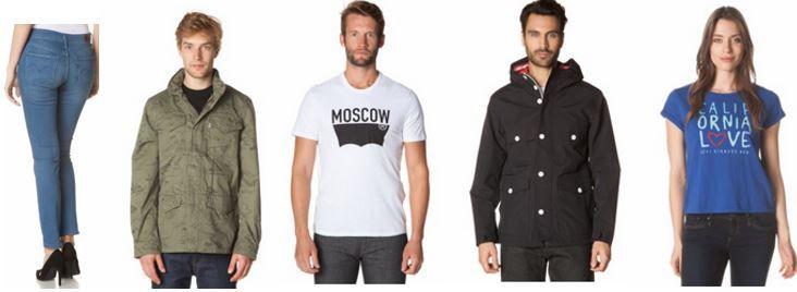 Levis Herren und Damen Jeans, Jacken, Hemden & Blusen mit bis zu 73% Rabatt
