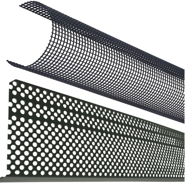 MARLEY Poly Net Laubschutz für Dach  u. Regenrinnen 2 Meter für 9,49€