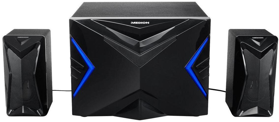 MEDION ERAZER X89015   2.1 Gamer Sound System für 44,44€