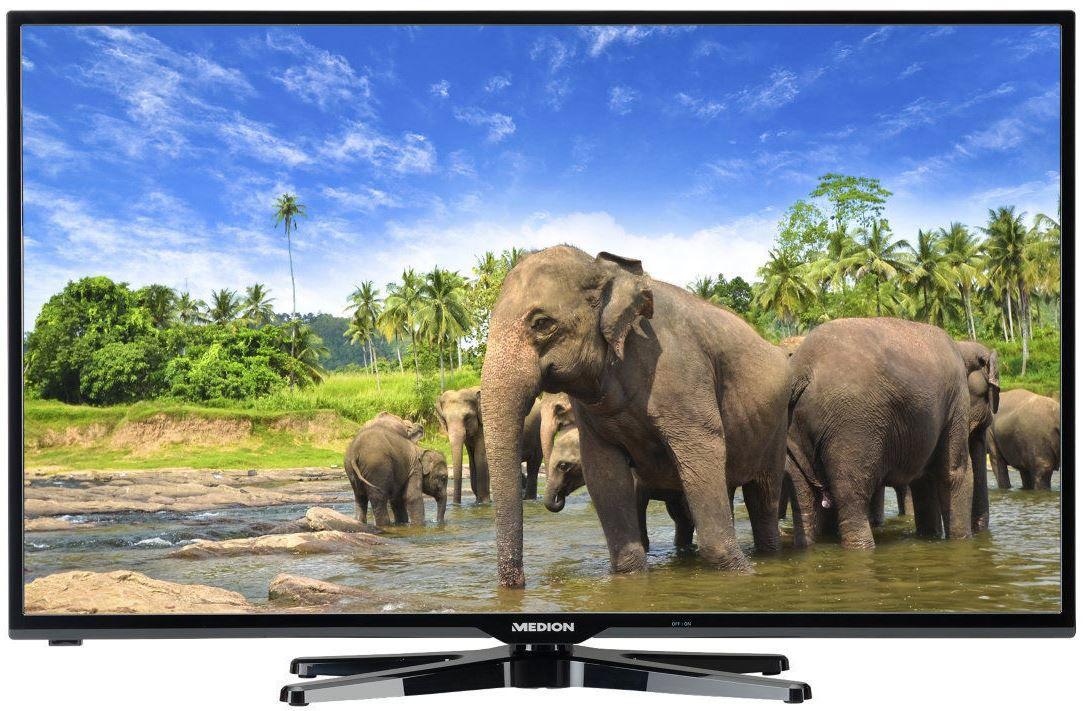 Medion L16063   40 Zoll WLan FullHD Smart TV mit triple Tuner für 249,99€