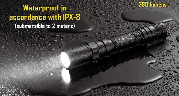 MT2A Nitecore MT2A LED Taschenlampe für 18,52€ (statt 39€)