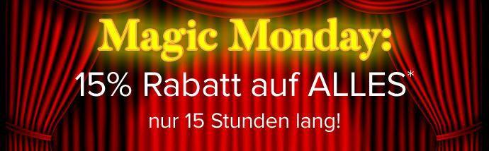 Magic Monday dress for less   15% extra Rabatt auf (fast) alles bis Mitternacht
