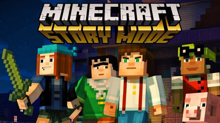 Minecraft: Story Mode Episode 1 (Android, iOS, PC, PS) kostenlos