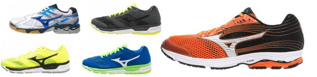 Mizuno Sportschuhe und Fashion mit bis zu 60% Rabatt @ Zalando Lounge
