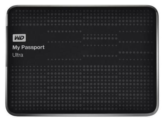 WD My Passport Ultra 1TB schwarz für 49,99€ (statt 63€)